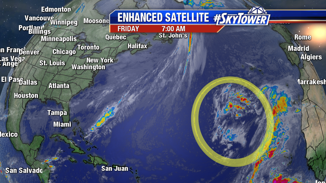 Eastern Atlantic IR Enhanced