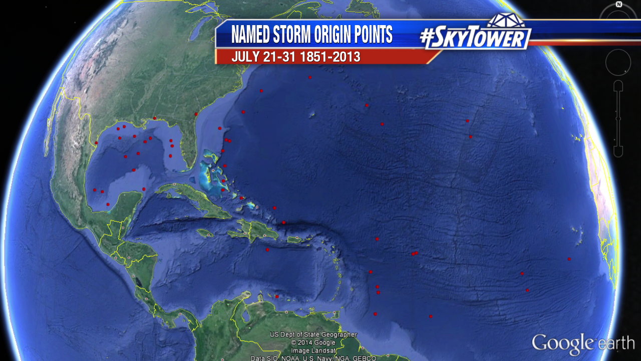 MyFoxHurricane Google Earth