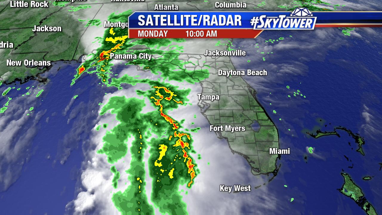Florida Satellite-Radar