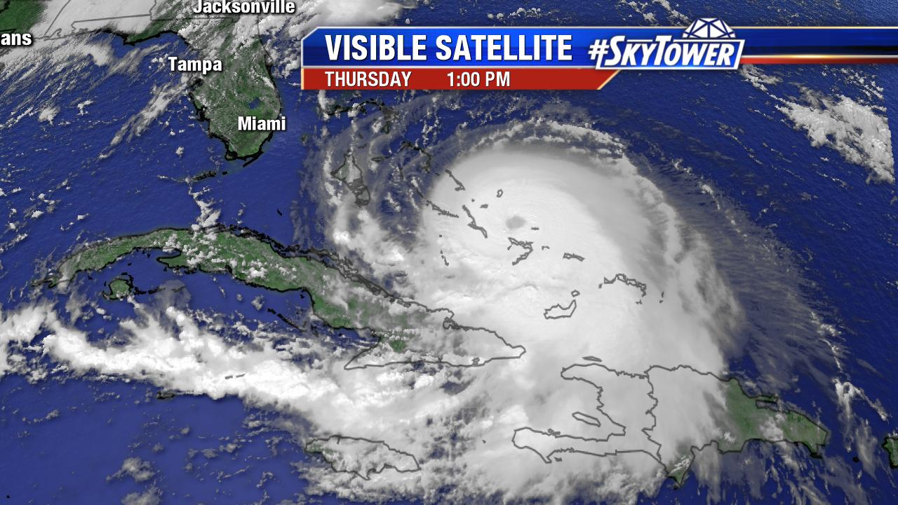 Florida Visible Satellite