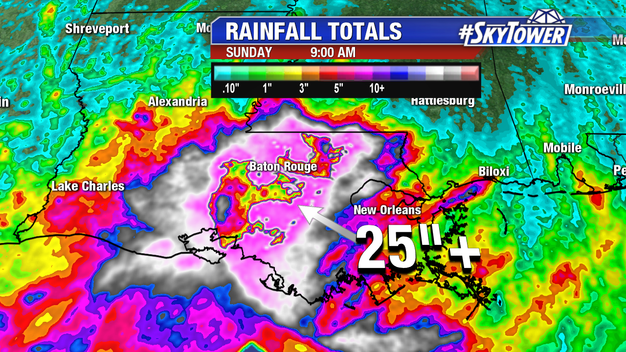 48 hr Rainfall Totals - Location