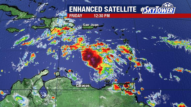 Another Area To Watch In The Caribbean